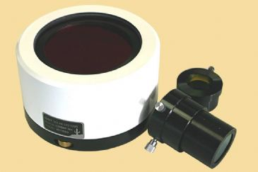 Lunt 100mm Ha Etalon-Filter-System with B3400 blocking filter for 2'' focuser